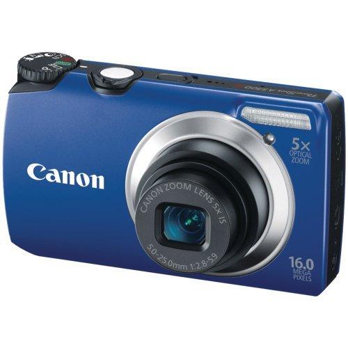 Canon Powershot A3300 16 MP Digital Camera with 5x Optical Zoom (Blue) [並行輸入品]   B07FQCQJYC