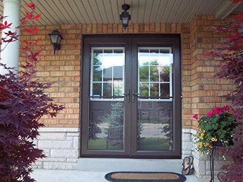 Ideal Security Inc. SK1215ORB Oil Rubbed Bronze Deluxe Storm Door Handle Set with Deadbolt