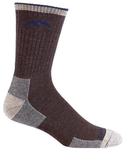 Darn Tough Vermont Merino Wool Micro Crew Cushion Sock, Chocolate, Medium(8-9.5) (For Men Socks Coolmax)
