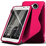 ONX3® Microsoft Lumia 650 Case Custom Made BookStyle PU Leather Wallet Flip With Credit / Debit Card Slot With LCD Screen Protector Guard, Leather Flip Case Credit / Debit Card, S Line Wave Gel Case Skin Cover, Polishing Cloth & Mini Retractable Stylus Pen