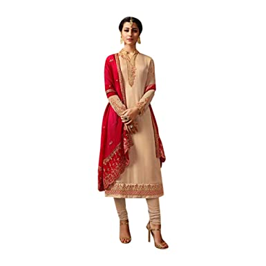 Bollywood Salwar Kameez Vestido de Mujer Traje Punjabi Ladies Girl ...