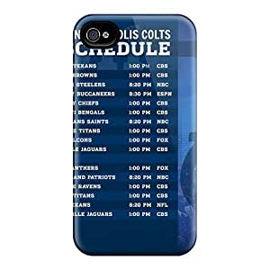 Cute Appearance Covers/tpu QBb7497grsw Indianapolis Colts Cases For Iphone 6