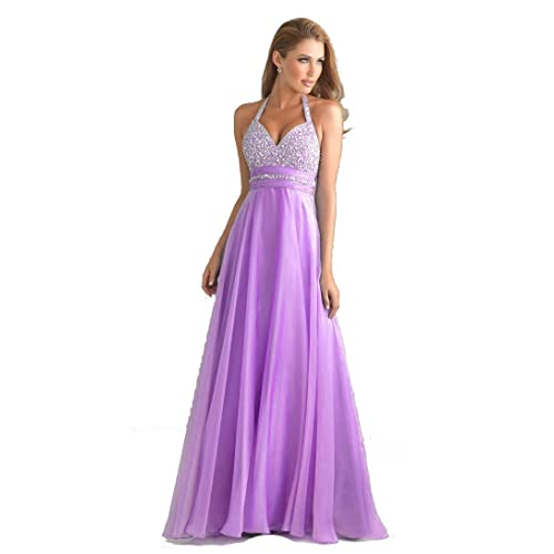 atopdress T8 Evening helterneck prom ball sequined gown long dress