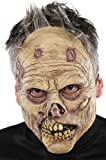 Rancid Zombie Latex Mask Adult Accessory