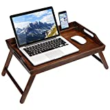 Rossie Home Media Bed Tray with Phone Holder - Fits