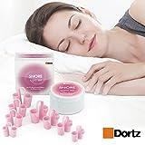 Dortz® Anti Snoring Devices - Snoring Solution - Snore Stopper Set - Anti Snoring Solutions - Anti Snoring Solutions - 8 Anti Snoring Nose Vents - Anti Snoring Device- Snoring Stopper Nasal Dilators
