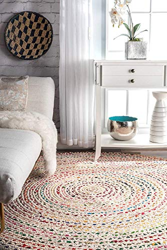 Buy braid rug round