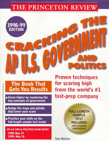 Cracking the Ap U.S. Government and Politics, 1998-99