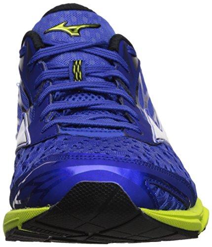 Men's Running Blue Wave Dazzling Shoes Canada Mizuno White 2 Catalyst UqXy5