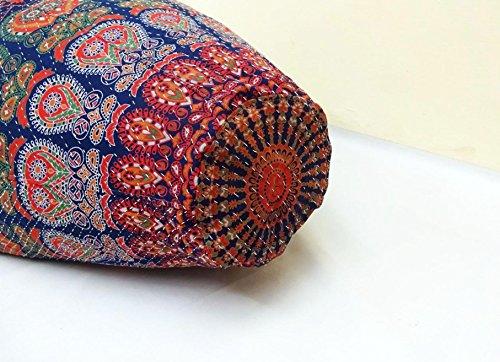 Handmade Quilted Cotton Floral Bohemian Bean Bag Chair