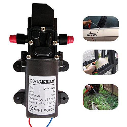 Findtech haute pression diaphragme Pompe à eau à amorçage automatique pour un Lavage de voiture Nettoyage Pour sols et le jardin d'arrosage