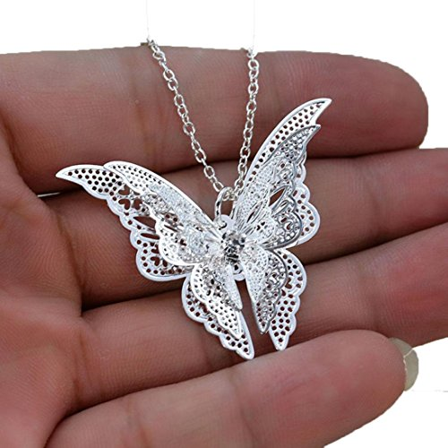 Usstore-Women-Pendant-Lovely-Silver-Butterfly-Pendant-Chain-Necklace-Alloy-Jewelry-Gift