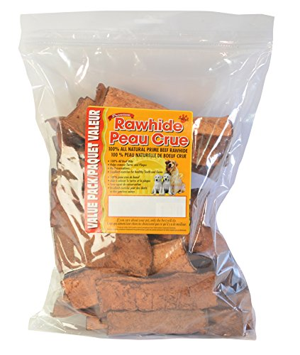 Masters Best Friend Beef Basted Rawhide Chips Pet Treat (1 Pack), 32 Oz