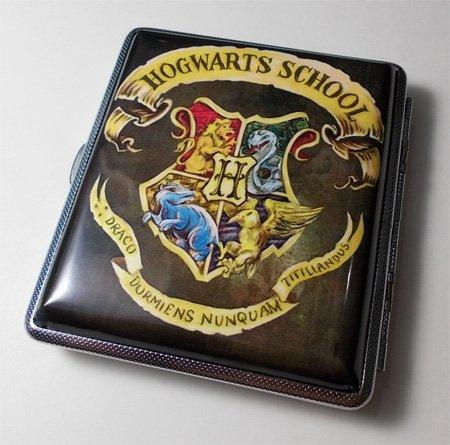 Harry Potter Hogwarts Cigarette/Wallet Card Case