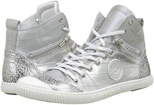 Sneaker a Collo Pataugas M Banjou Argent Donna F2d Alto Argent twPwpgqx