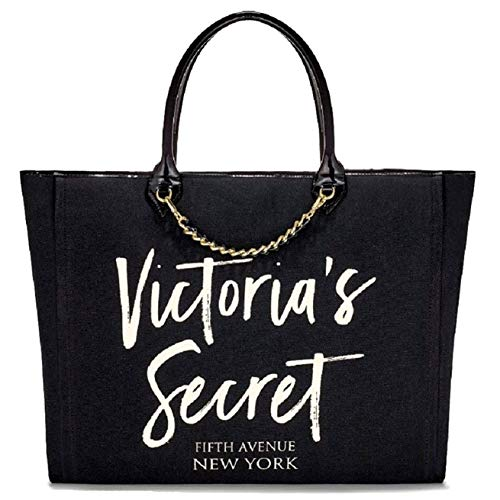 Victoria's Secret Angel City Tote Bag Black