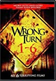 Wrong Turn 1 - 6 Complete Collection DVD (Wrong Turn 1 / 2: Dead End / 3: Left For Dead / 4: Bloody Beginnings / 5: Bloodlines / 6: Last Resort)