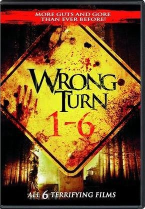 Wrong Turn 1 - 6 Complete Collection DVD (Wrong Turn 1 / 2: Dead End / 3: Left For Dead / 4: Bloody Beginnings / 5: Bloodlines / 6: Last Resort) (Set Turn Dvd Wrong)
