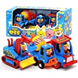 Pororo Heavy Equipment Play Toy Car