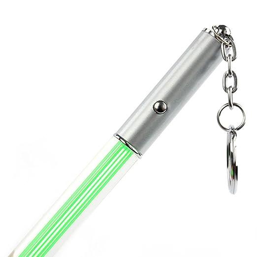 Amazon.com: shouhengda Luz LED Glow Magic Stick Pen Llavero ...