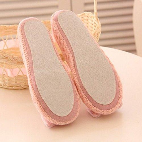 Chaussures Sfit Confortable de Chaud Peluche Femme Yoga Chaussons a5USwq