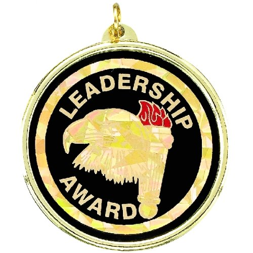 Leadership Award Medal comes with Neck Ribbon - Pack of 10