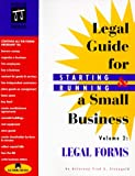 img - for The Legal Guide for Starting & Running a Small Business: Legal Forms (Vol 2 of Edition 3) book / textbook / text book
