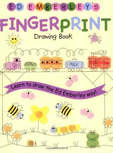 Ed Emberley's Fingerprint Drawing Book - Book  of the Ed Emberley Drawing Books