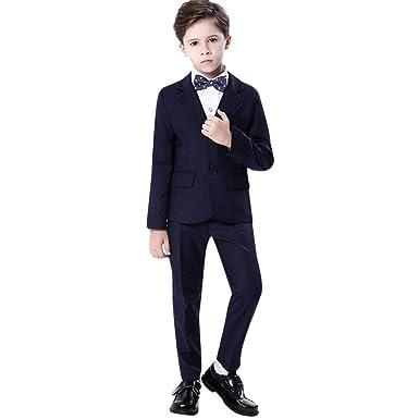 Conjuntos Bebe Niño Invierno Vestir, Zolimx Niños Chicos Muestran Coloridos Trajes Formales Coat + Pantalones + Pajarita + Juego de Camisa Conjuntos: ...