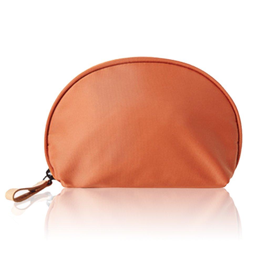 Mossio Half Moon Cosmetic Beauty Bag Travel Handy Organizer Pouch
