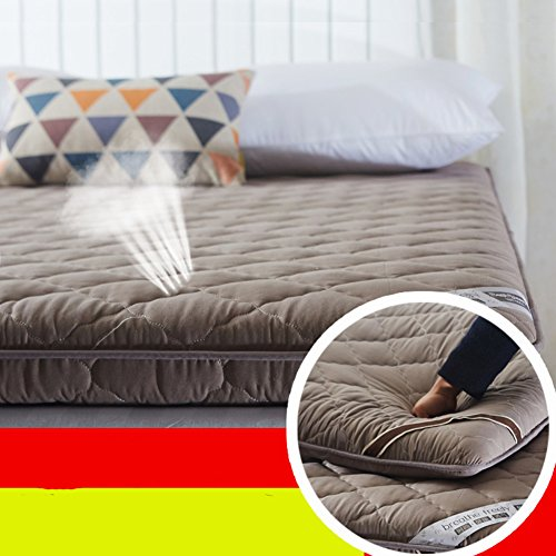 FDCVS Tatami mattress student floor mat thicker bedroom-B 90x200cm(35x79inch) by FDCVS