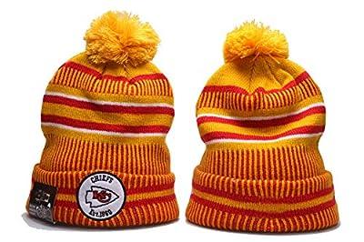 2019 Fans Hat Sideline Sport Knit Beanie Winter Pom Knit Hat Cap for Gift