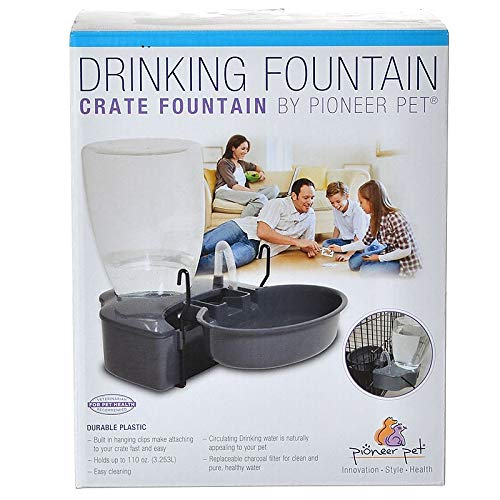 (Pioneer Pet Crate Plastic Drinking Fountain)