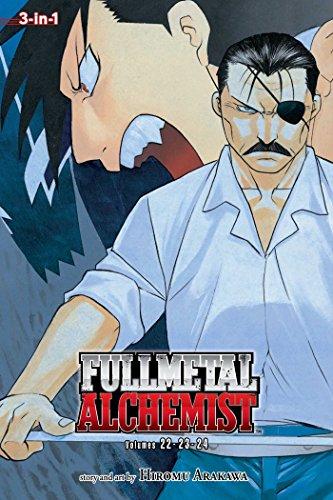 - Fullmetal Alchemist, Vol. 22-24 (Fullmetal Alchemist 3-in-1)