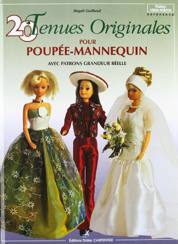 20 tenues originales pour poupe-mannequin