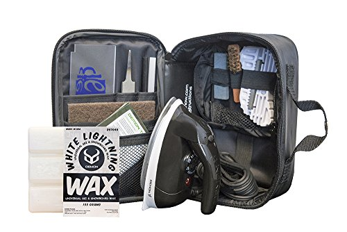 Snowboard Waxing Iron (Demon Complete Tune Kit with Wax)