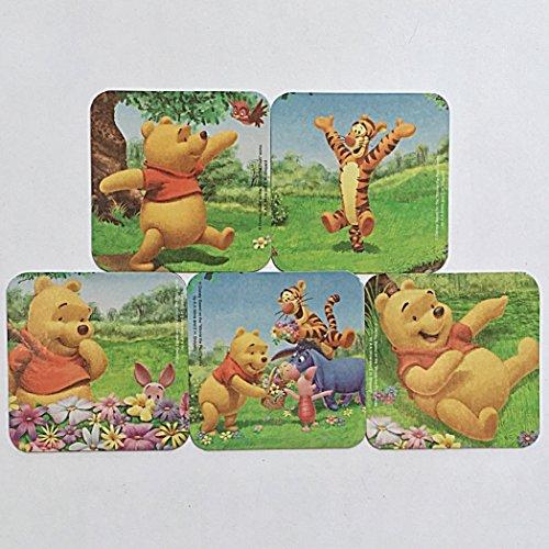 (Winnie the Pooh Refrigerator Magnets, 5 Disney Fridge Magnets, Pooh Piglet Tigger)