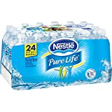 Purified Water Nestl Pure Life Bottled Purified Water, 16.9 oz. Bottles, 24/Case