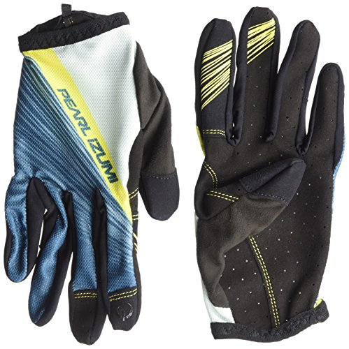 Pearl iZUMi Women's Divide Gloves, Blue Steel Fracture, Large