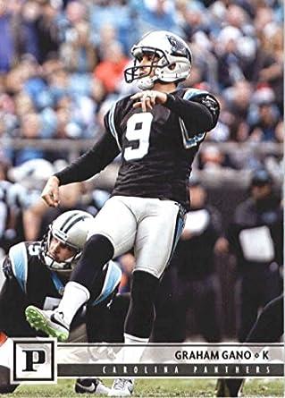 2018 Panini NFL Football  47 Graham Gano Carolina Panthers Official Trading  Card 71bcf8680