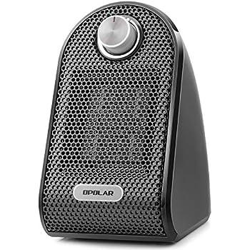 Amazon Com 500 Watt Ceramic Mini Heater With Adjustable