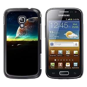 Adorno Of The Sun - Metal de aluminio y de plástico duro Caja del teléfono - Negro - Samsung Galaxy Ace 2