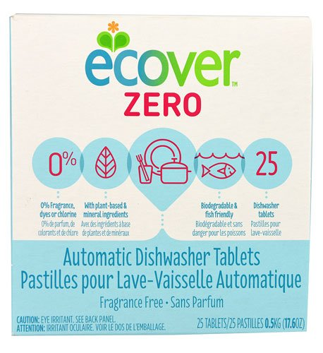 Ecover Zero Automatic Dishwashing Tablets -- 25 Tablets - 2pc