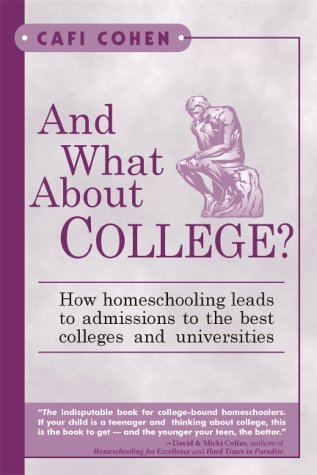 How will i get into college when im homeschooled D: ?!!?