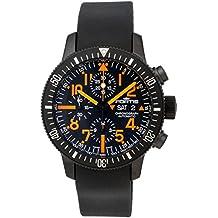 Limited Edition Fortis B-42 Black Mars 500 Automatic Chrono Mens Watch Calendar 638.28.13.K