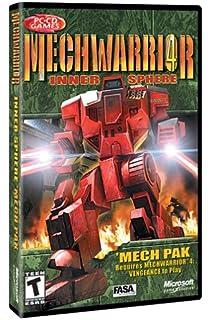 Amazon com: MechWarrior 4: Vengeance: Video Games