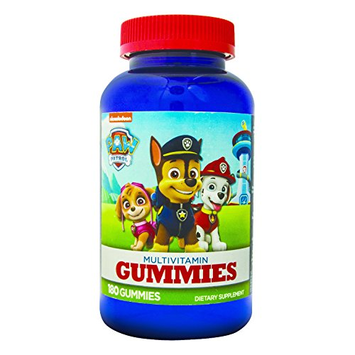 Paw Patrol Multivitamin Gummies 180ct (Paws Vitamins)