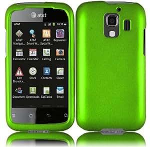 Huawei Fusion 2 U8665 Rubberized Cover - Neon Green