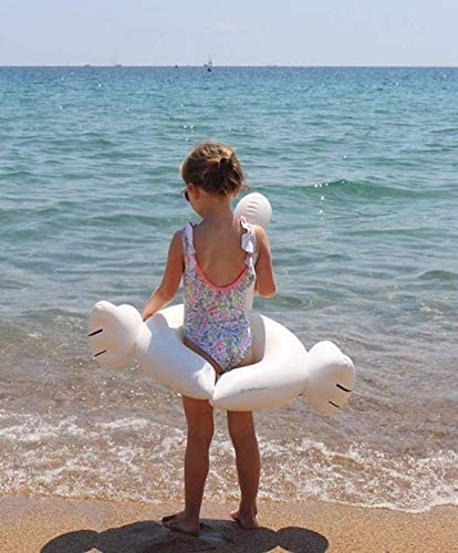Weefloat Kiddy Swan Float Inflatable White Swan Kids Swim Ring Pool Float | Ride-On Swimming Pool Toys Durable Unique Design Fast Blow Up and Fun on ...
