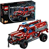 LEGO Technic First Responder Jeep Building Blocks for Boys 9 to 16 Years (513 Pcs) 42075